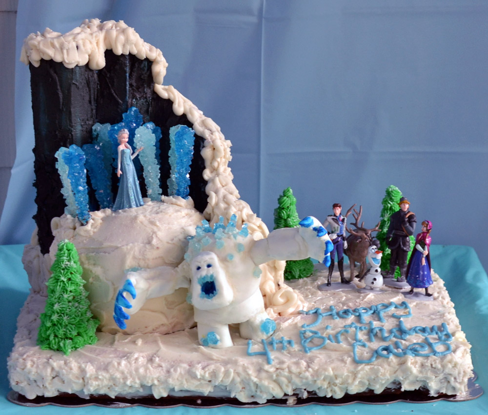 Frozen Themed Birthday Cake Frozen Cake Ideas Themed Childrens Birthday Party Pick Ease