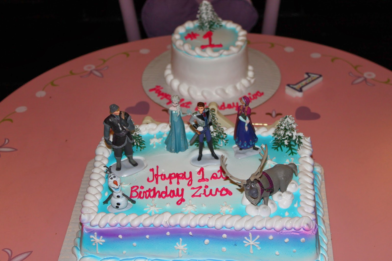 Frozen Themed Birthday Cakes 11 Frozen Birthday Cakes At Albertsons Photo Frozen Birthday Cake