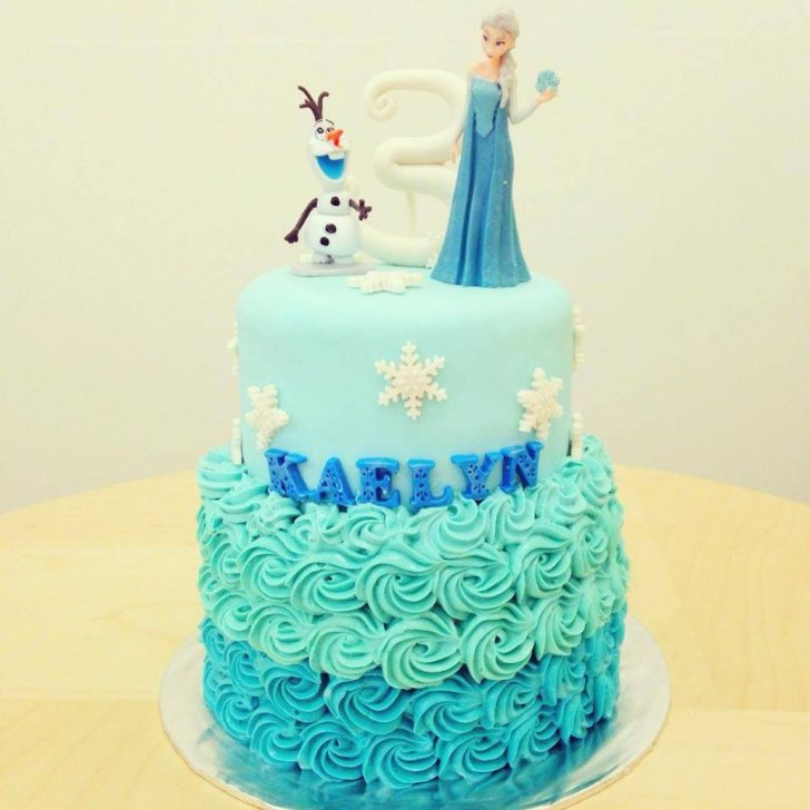 Frozen Themed Birthday Cakes 18 Frozen Themed Birthday Cakes Which Can Be Customized Recommend
