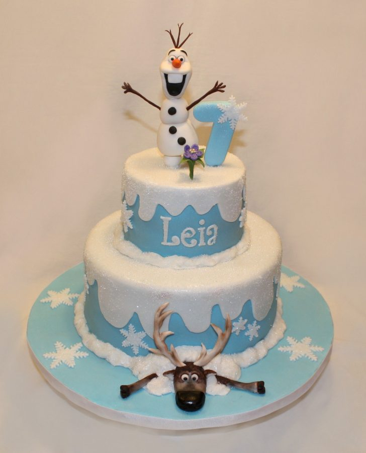 Frozen Themed Birthday Cakes Disneys Frozen Is Far The Most Popular Theme For Birthday