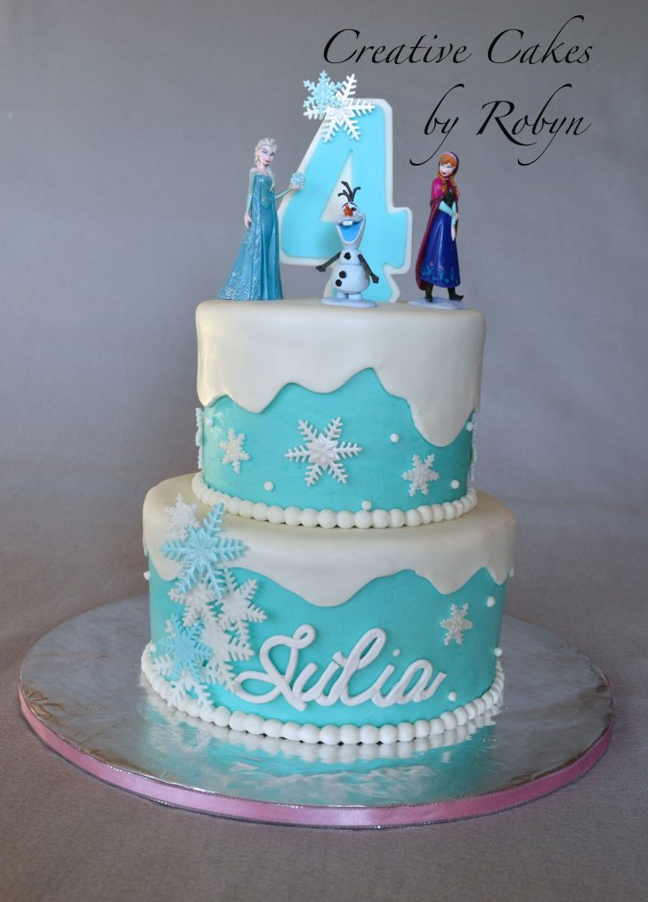 Frozen Themed Birthday Cakes Festa Frozen Brielles 4th Birthday Pinterest Frozen Birthday