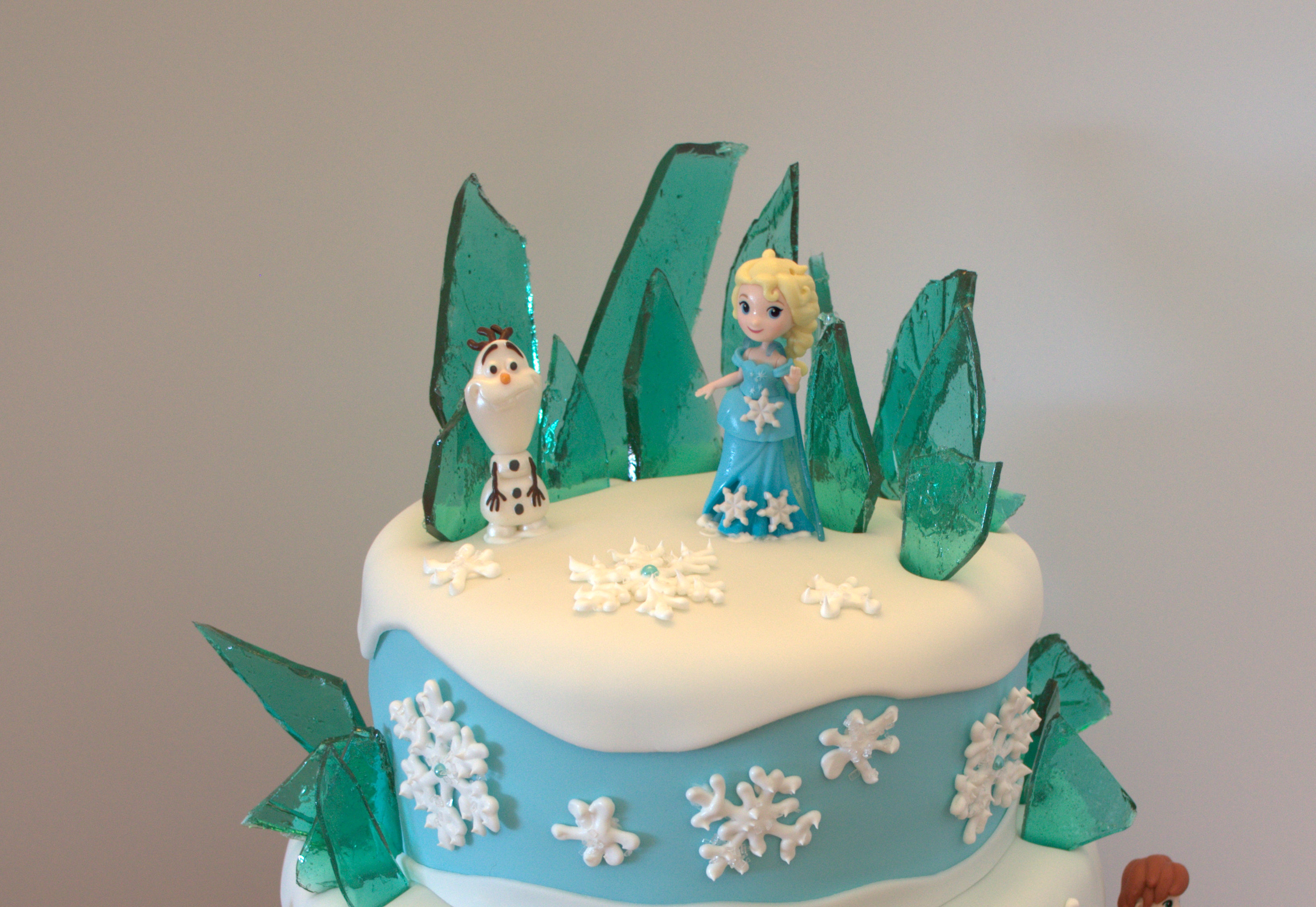 Frozen Themed Birthday Cakes Frozen Themed Birthday Cake A Little Of This And A Little Of That