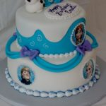 Frozen Themed Birthday Cakes Frozen Themed Birthday Cake Cakecentral