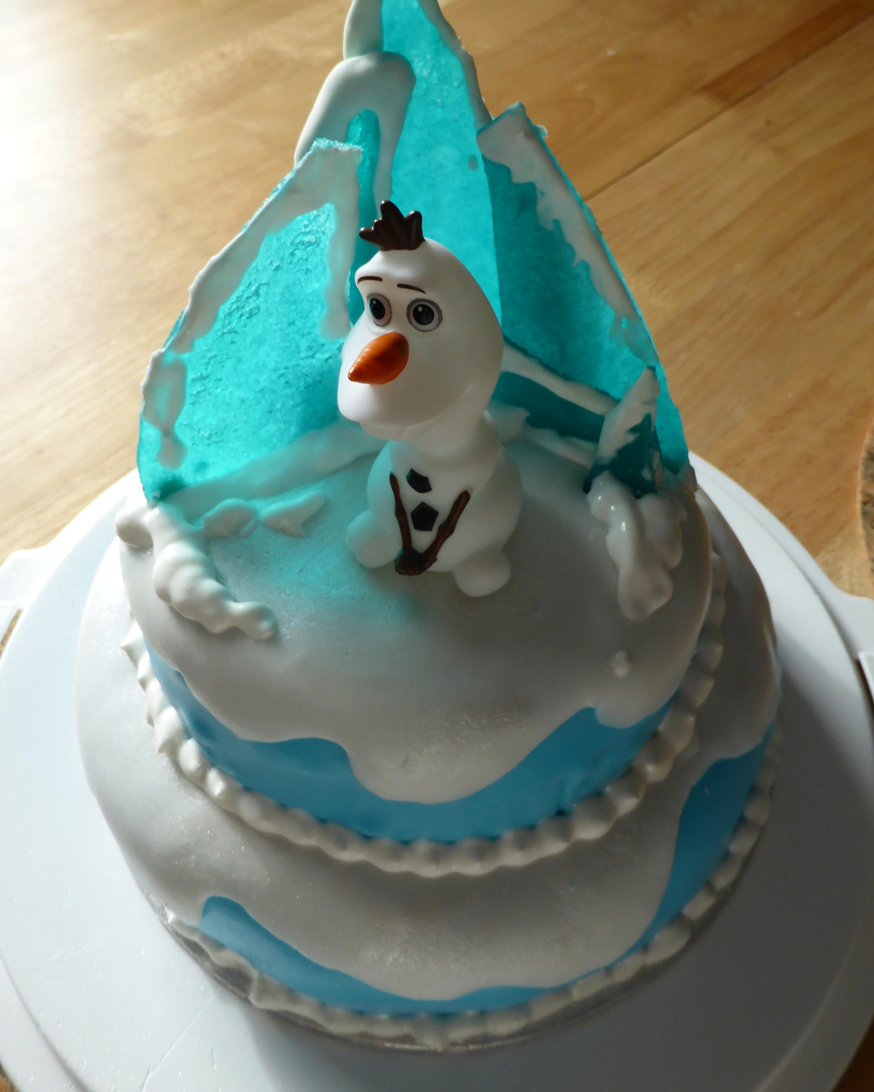 Frozen Themed Birthday Cakes Frozen Themed Birthday Cake Nerd With A Manicure