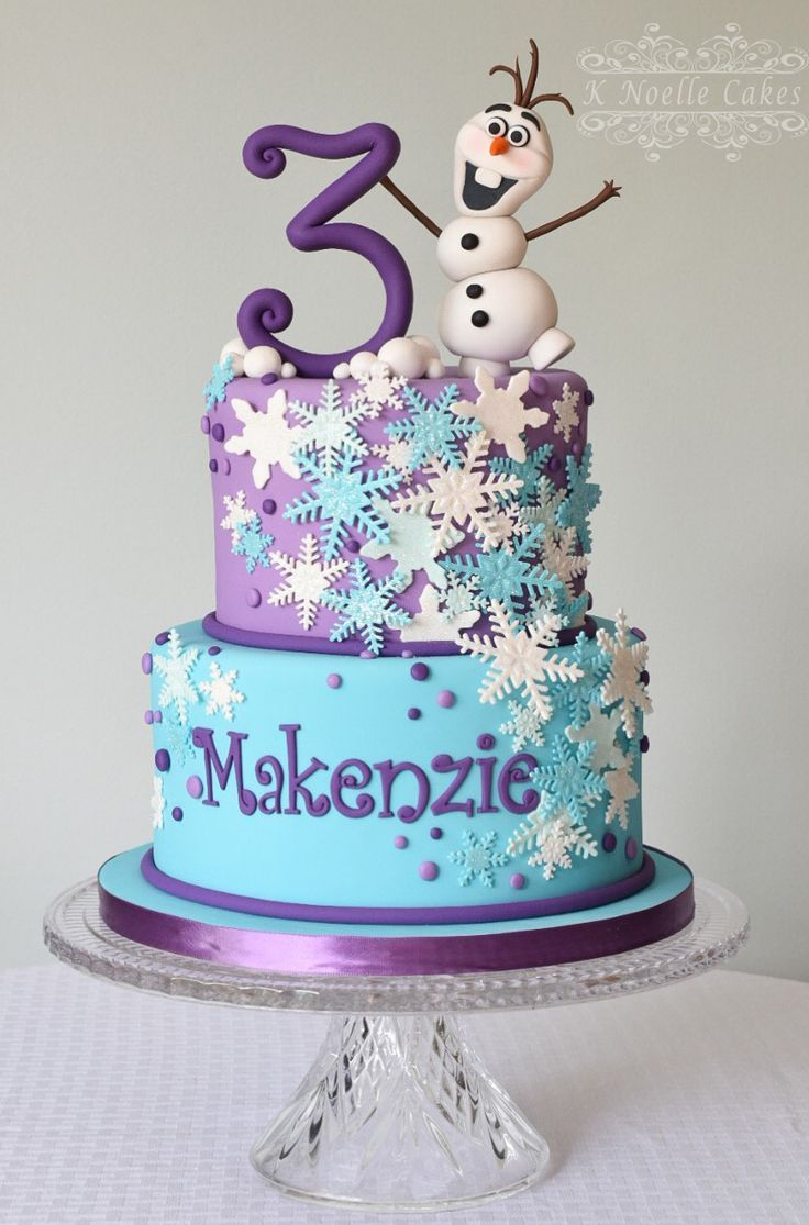 Frozen Themed Birthday Cakes Pin Stephanie Shearer On Baking Pinterest Frozen Birthday