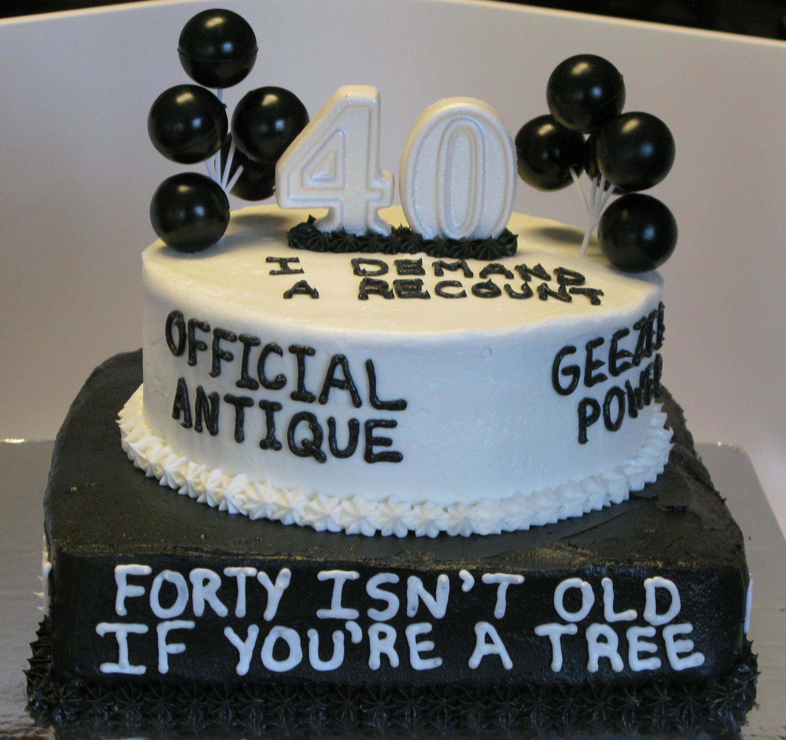 Funny Birthday Cake Pictures 10 40 Cakes Photo 40th Ideas
