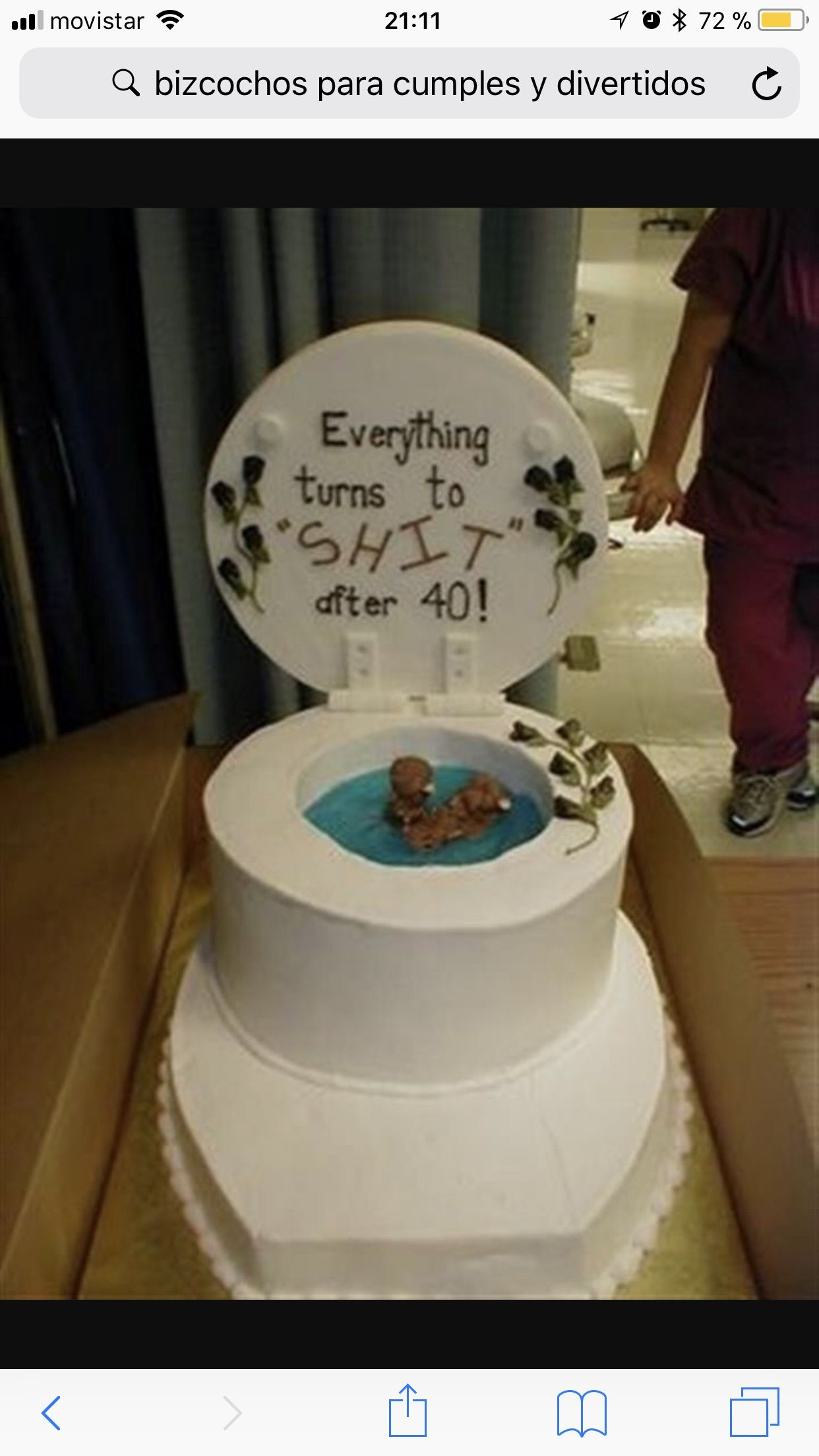 1242 X 2208 In 32 Marvelous Image Of Funny Birthday Cakes