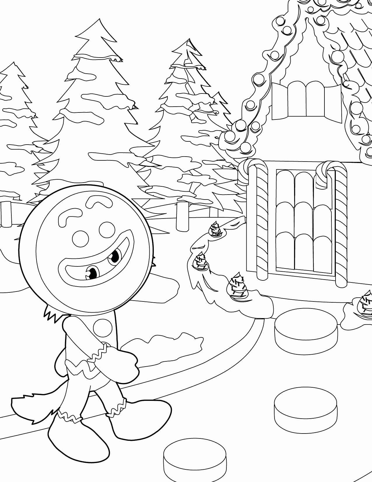 Gingerbread Coloring Pages Beautiful Ginger Man Coloring Pages Dubaitransport