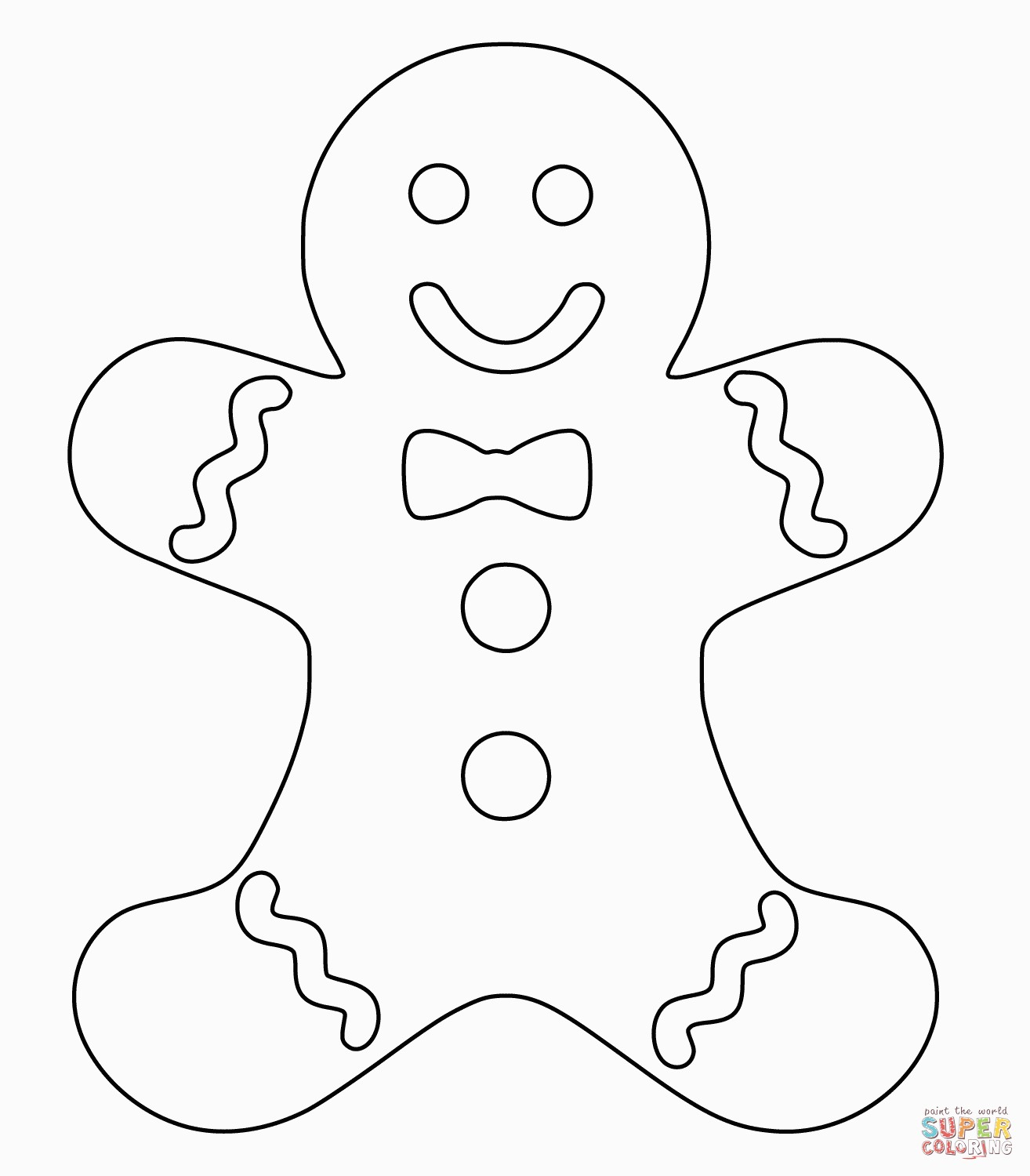Gingerbread Coloring Pages Christmas Gingerbread Man Coloring Page For Gingerbread Coloring