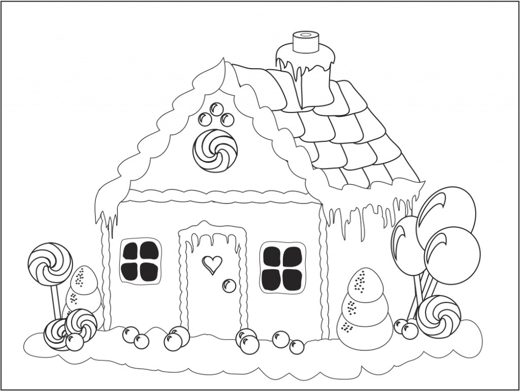 Gingerbread Coloring Pages Coloring Pages Gingerbread Coloringheet Picture Ideas