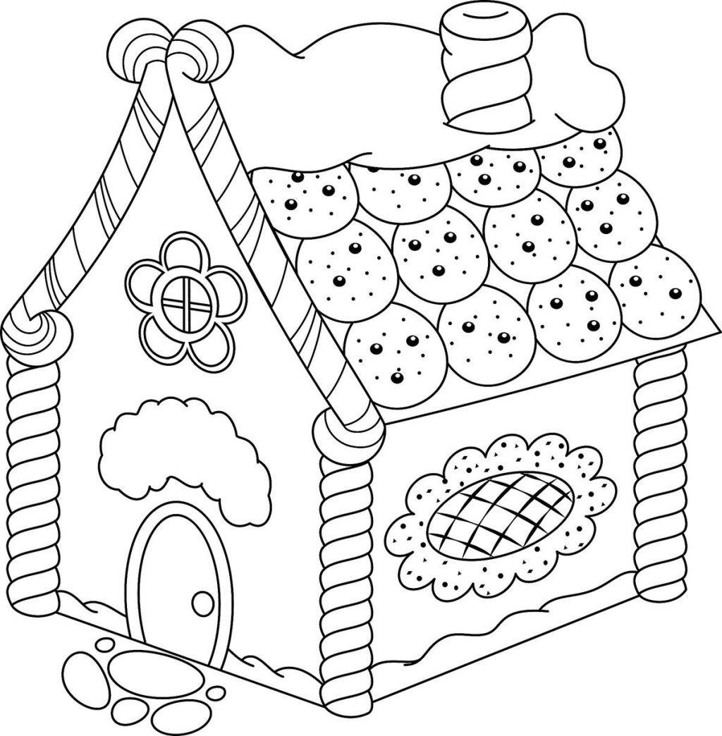 Gingerbread Coloring Pages Coloring Pages Gingerbread House Coloring Pages Printable Activity