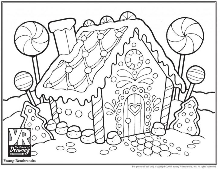 Gingerbread Coloring Pages Coloring Pages Gingerbreadhouse Coloringpage Bw Gingerbread House