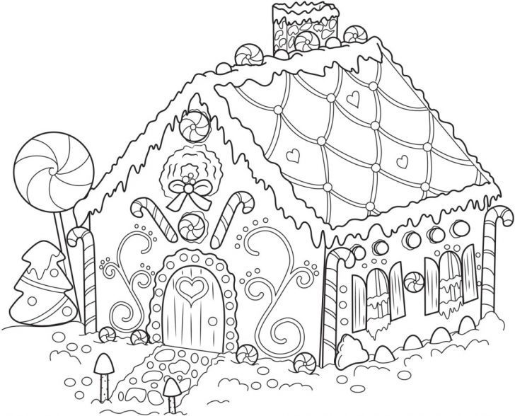 Gingerbread Coloring Pages Free Printable Snowflake Coloring Pages For Kids