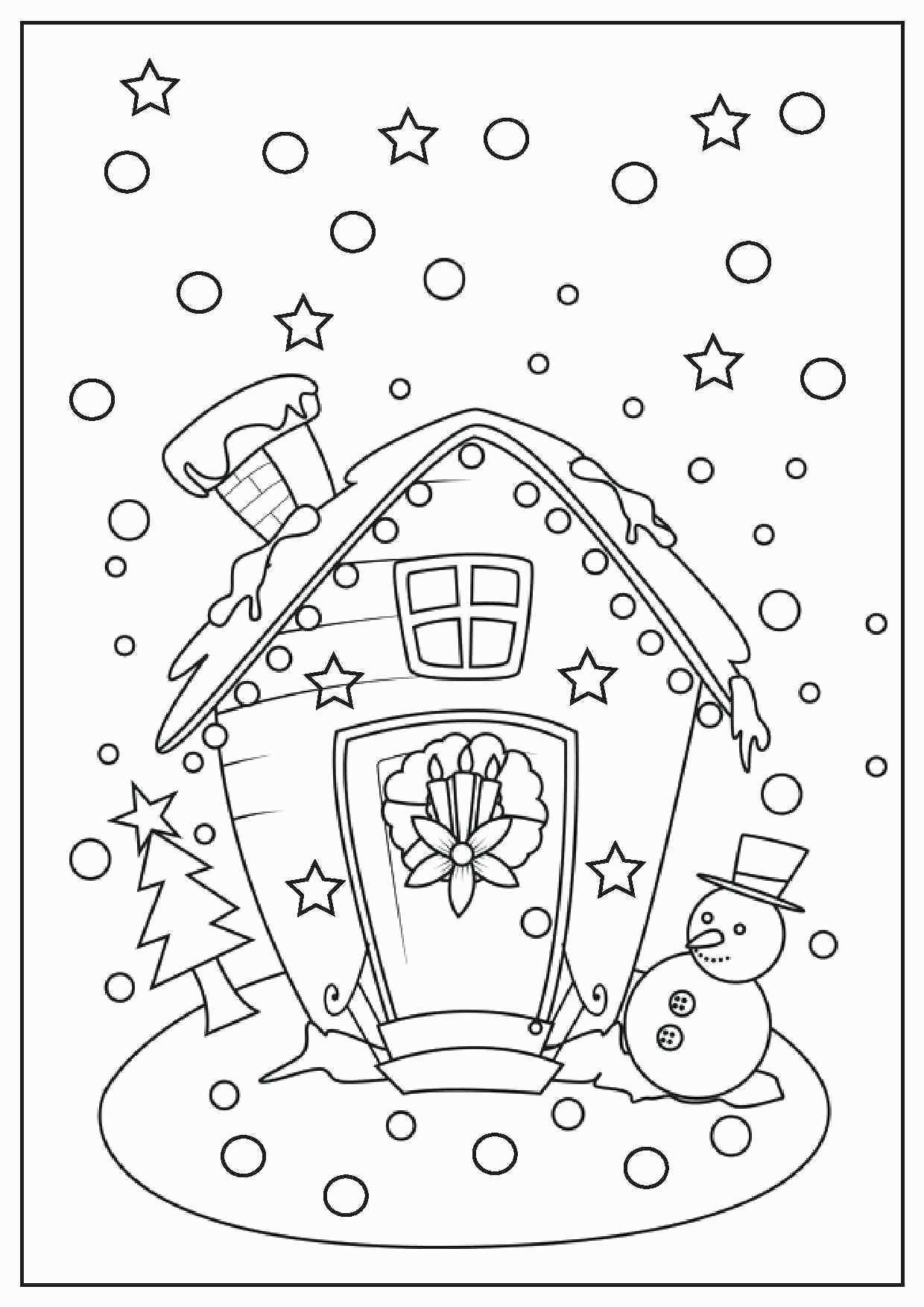 Gingerbread Coloring Pages Gingerbread Coloring Pages Luxury Gingerbread House Coloring Pages