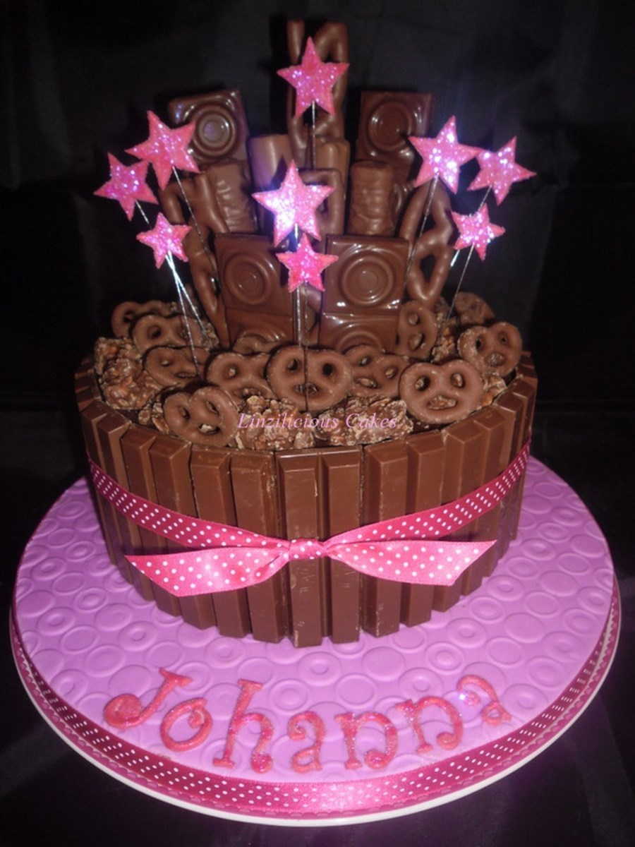 Girly Birthday Cakes Girly Chocolate Explosion Cakecentral