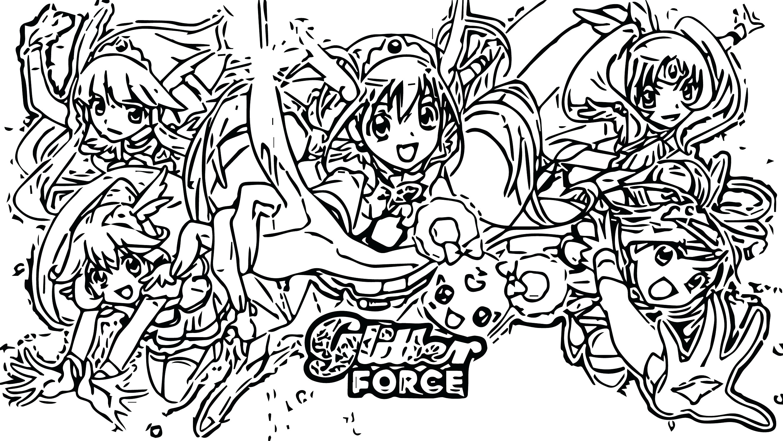 Glitter Force Coloring Pages Coloring Pages Glitter Force New Pretty Cure Google Search Of Png