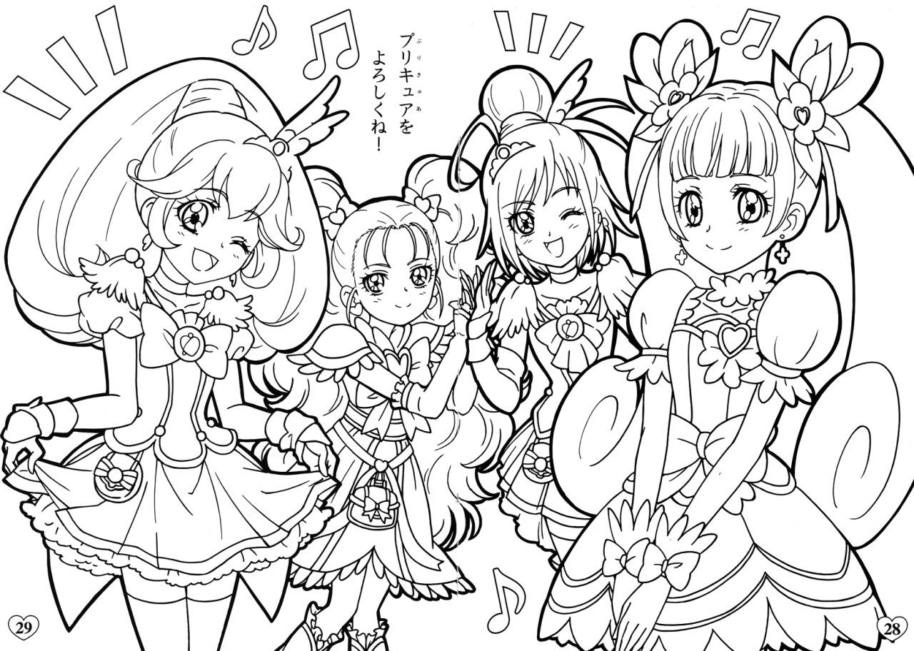 Glitter Force Coloring Pages Glitter Force Doki Doki Coloring Pages Coloring Pages 2019