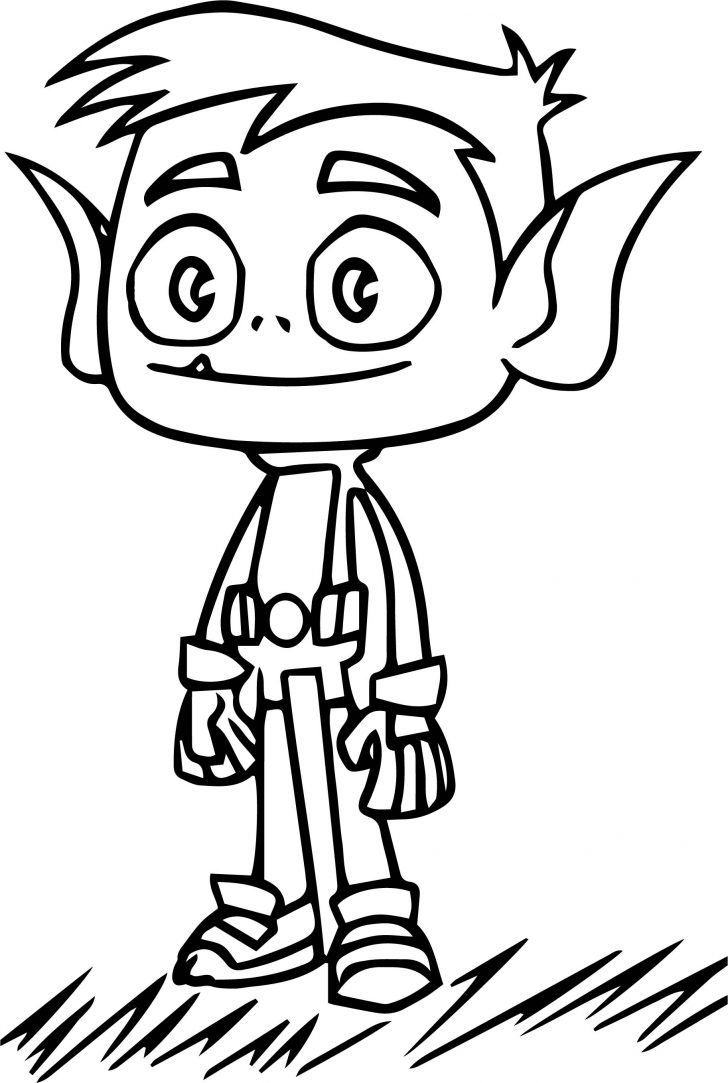 Grass Coloring Page Teen Titans Go On Grass Coloring Page Wecoloringpage