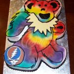 Grateful Dead Birthday Cake 2013 All Occasion Cakes Creations Laura