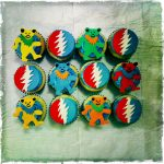 Grateful Dead Birthday Cake 8 Grateful Dead Cupcakes Photo Grateful Dead Birthday Cupcakes