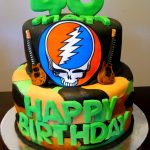 Grateful Dead Birthday Cake Camouflage Grateful Dead Guitar Cake Cherry On Top Delights