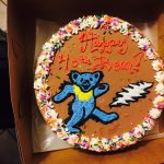 Grateful Dead Birthday Cake Friends Birthday Cake Gratefuldead