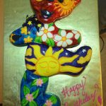 Grateful Dead Birthday Cake Grateful Dead Bear Cake Cakecentral
