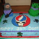 Grateful Dead Birthday Cake Grateful Dead Birthday Cake Cakecentral