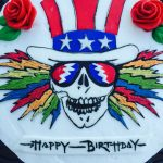 Grateful Dead Birthday Cake Grateful Dead Birthday Cake Eat Cake Pinterest Grateful Dead