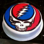 Grateful Dead Birthday Cake Grateful Dead Cake Cakes And Crafts Kerry Cake Grateful Dead