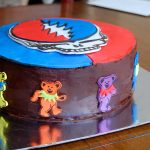 Grateful Dead Birthday Cake Grateful Dead Cake For My Dads Birthday Album On Imgur