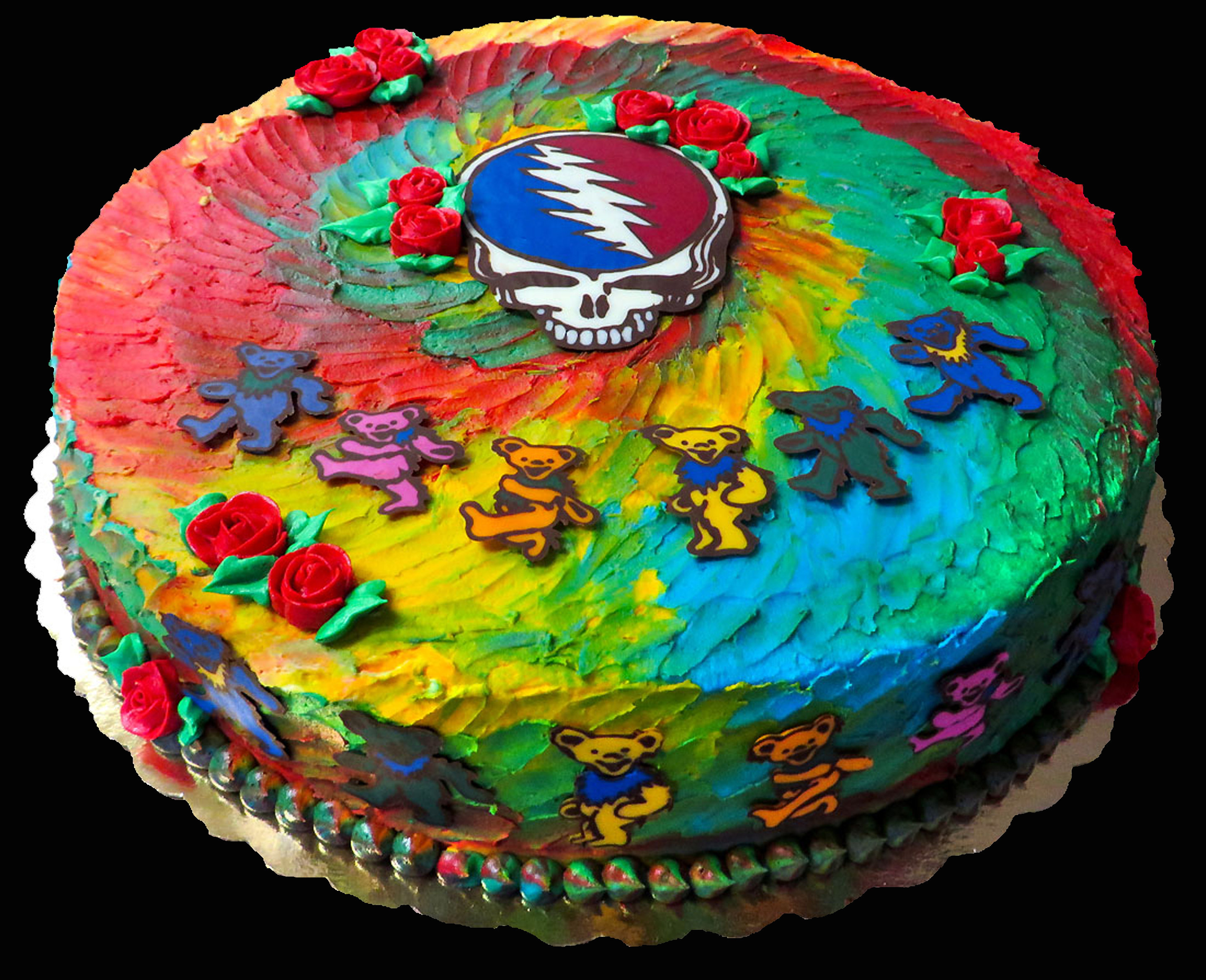 32+ Inspiration Image of Grateful Dead Birthday Cake