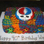 Grateful Dead Birthday Cake Grateful Dead Cakecentral