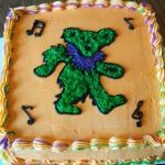 Grateful Dead Birthday Cake Grateful Dead Dancing Bear Cake Cakecentral