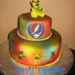 Grateful Dead Birthday Cake Grateful Dead Recipes Pinterest Grateful Dead Grateful And