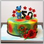 Grateful Dead Birthday Cake Greatful Dead Birthday Cake Cakecentral