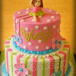 Gymnastics Birthday Cake Gymnast Birthday Cake Jam Cakery