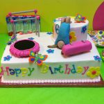 Gymnastics Birthday Cake Gymnastic Birthday Cakes