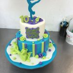 Gymnastics Birthday Cake Gymnastics Themed Birthday Cake Birthday Cakes Pinterest