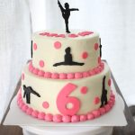 Gymnastics Birthday Cake The White Kitten Bakes Gymnastics Birthday Cake Bostons