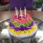 Happy Birthday Cakes Pictures Happy Birthday Floral Cake Keizer Florist