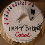 Happy Birthday Carol Cake Canasta And Cocktails Gluten Free Carrot Birthday Cake Cakecentral
