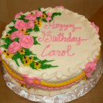 Happy Birthday Carol Cake Carol Birthday Cakes