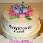 Happy Birthday Carol Cake Happy 80th Birthday Carol Cakes And Cupcakes Pinterest 80th