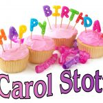 Happy Birthday Carol Cake The Clipboard Happy Birthday Carol Stott