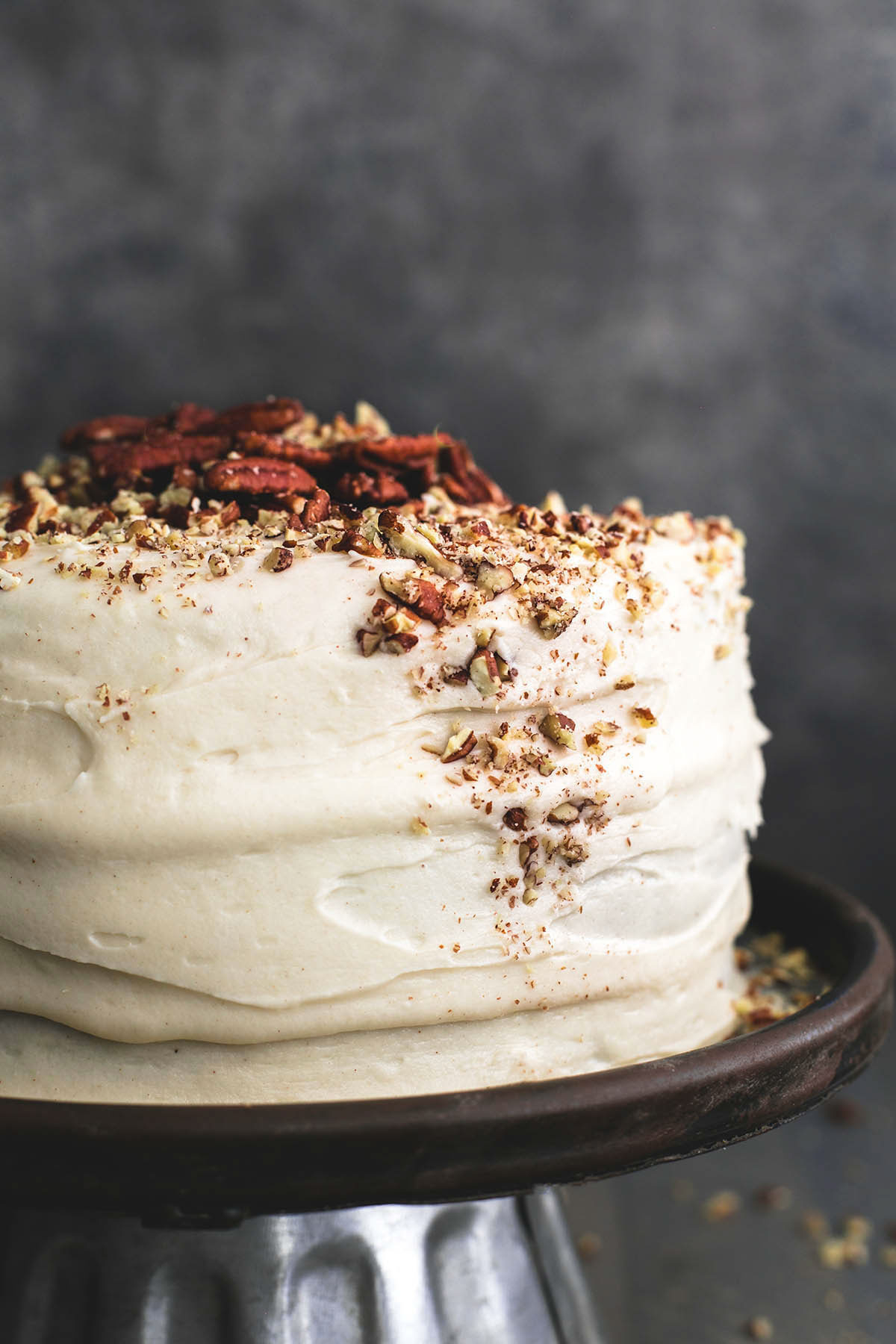 Happy Birthday Carol Cake Worlds Best Carrot Cake With Cream Cheese Frosting Creme De La Crumb