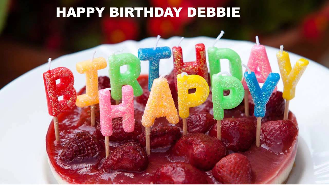 Happy Birthday Debbie Cake Debbie Cakes Pasteles105 Happy Birthday Youtube