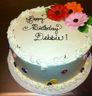 Happy Birthday Debbie Cake Happy Birthday Debbie