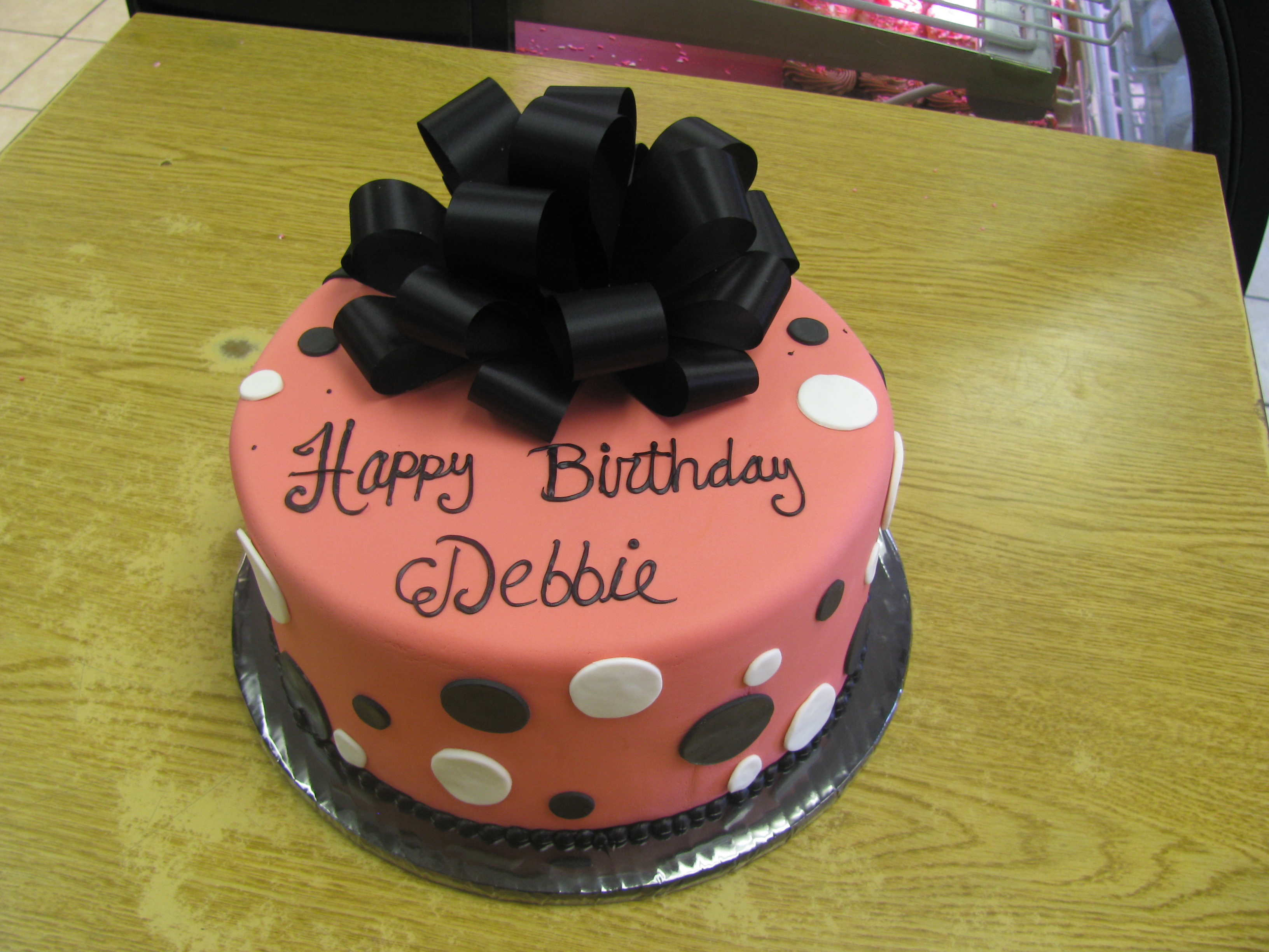 Happy Birthday Debbie Cake Happy Birthday Debbie Cake Brithday Cake