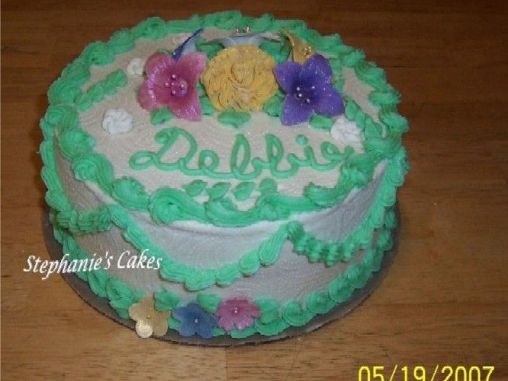 Happy Birthday Debbie Cake Happy Birthday Debbie Cakecentral